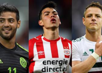 The Mexicans linked with Real Madrid and Barcelona