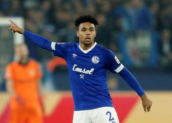 Weston McKennie back at training with Schalke 04