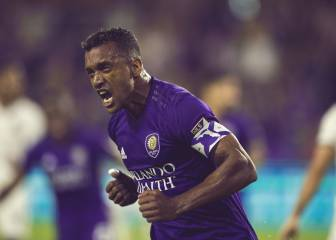 Nani threw a fit at the Orlando against Colorado match