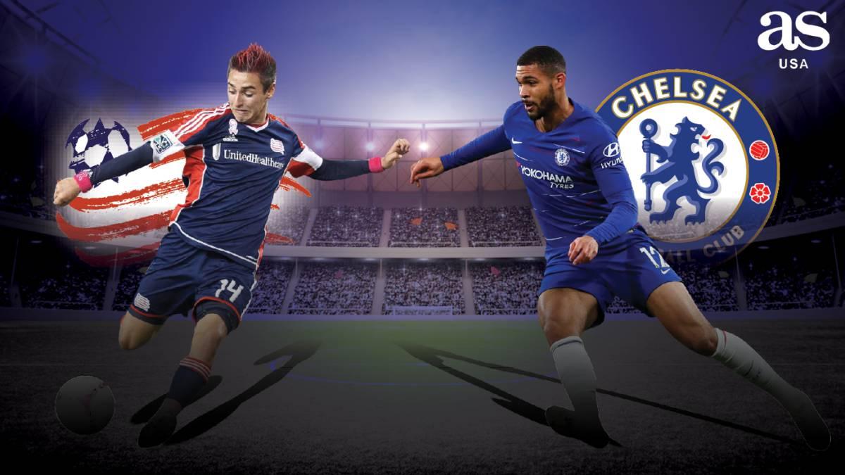 New England Revolution vs Chelsea en vivo y en directo ...