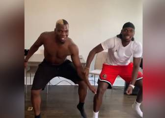 Divertido video con baile de los hermanos Pogba