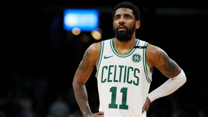 5de5d32f Kyrie Irving en partido de los Celtics. Boston Celtics