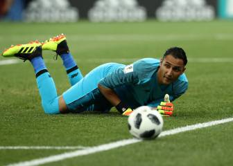¡Intratable! Keylor presume sus atajadones con el Madrid