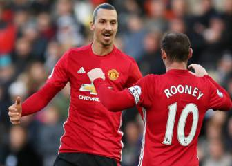 Zlatan y Rooney harán recordar la Champions League en la MLS