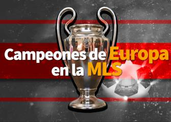 Campeones de Champions League en la MLS