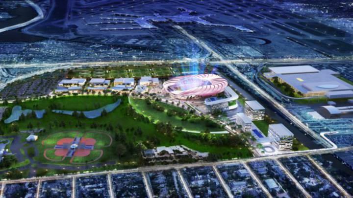 Terrenos del estadio del Inter Miami contaminados por arsénico