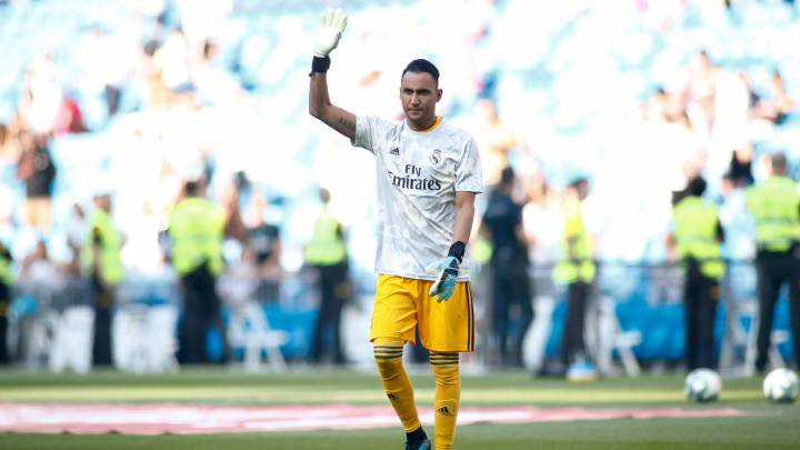 purchase cheap c9945 56a91 Real Madrid | Sergio Ramos has his view of where Keylor ...
