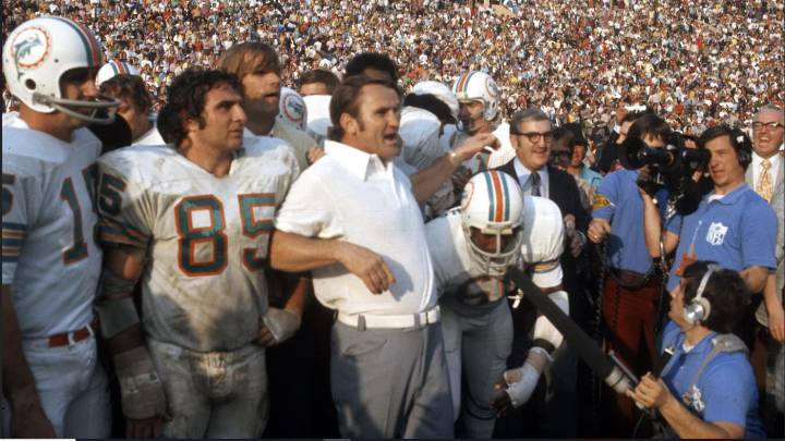 8: Don Shula, el coach de la temporada perfecta