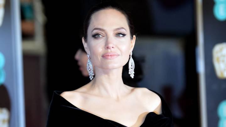 Asi Lucio Angelina Jolie En El Estreno De Maleficent 2