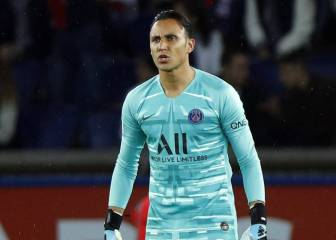 PSG looking at bringing in competition for Keylor Navas