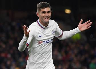 Pulisic hizo historia con hat-trick perfecto ante Burnley