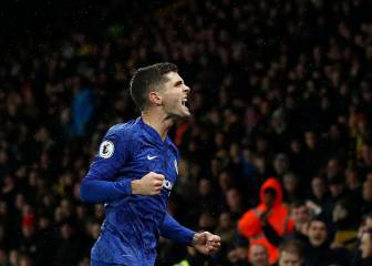 Christian Pulisic en plan grande