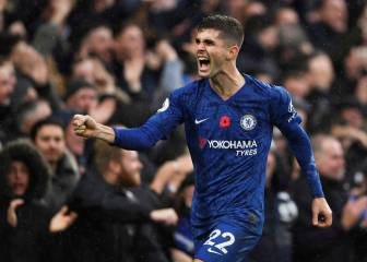 Christian Pulisic pide a gritos ser indiscutible de Lampard