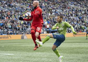 Alineaciones confirmadas para el Seattle Sounders vs Toronto