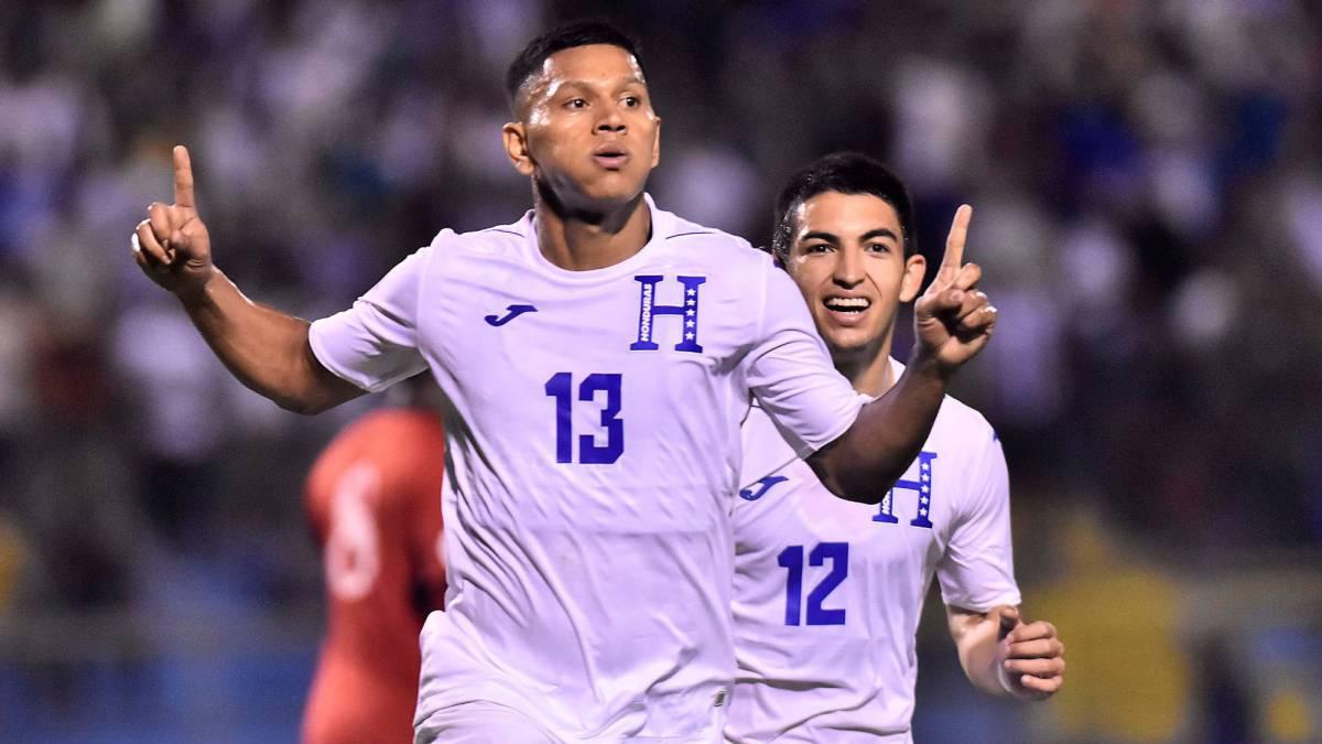 Honduras goleó a Trinidad y Tobago en San Pedro Sula - AS Usa