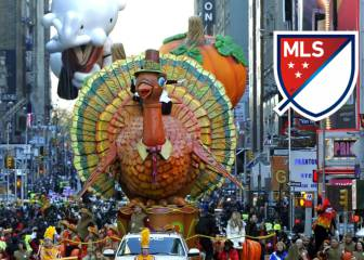 Equipos de la MLS celebran el Thanksgiving Day