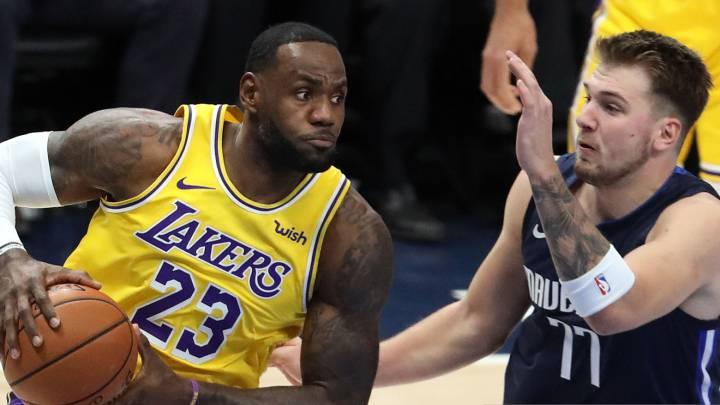Lakers Mavs Tv Horario Y Como Ver La Nba Lebron Vs
