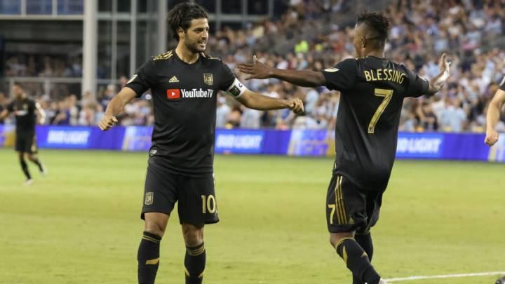 Carlos Vela arranca el 2020 con golazo ante Peñarol - AS USA