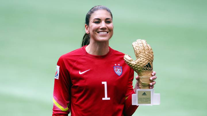 Hope Solo espera que sus récords la lleven al Hall of Fame