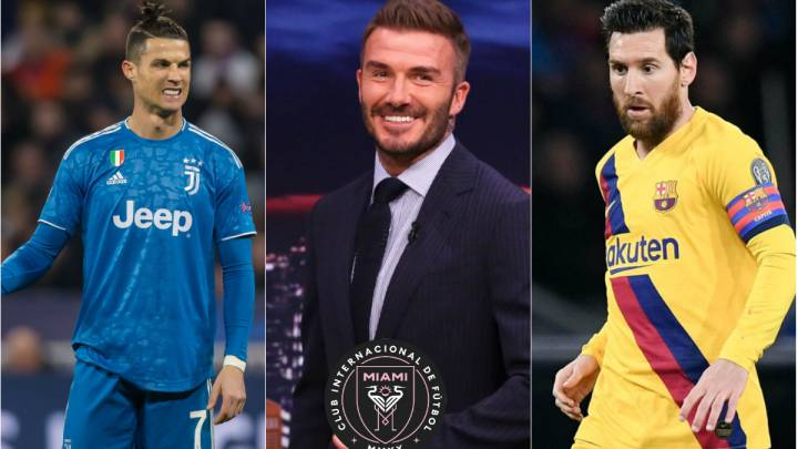 David Beckham no descarta a Cristiano y Messi para Inter Miami