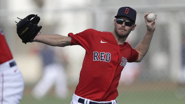 Chris Sale con los Red Sox