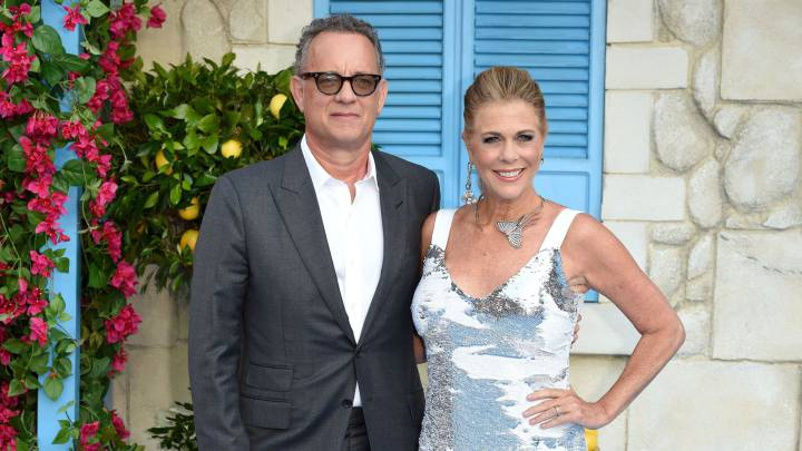 Tom Hanks con Rita Wilson