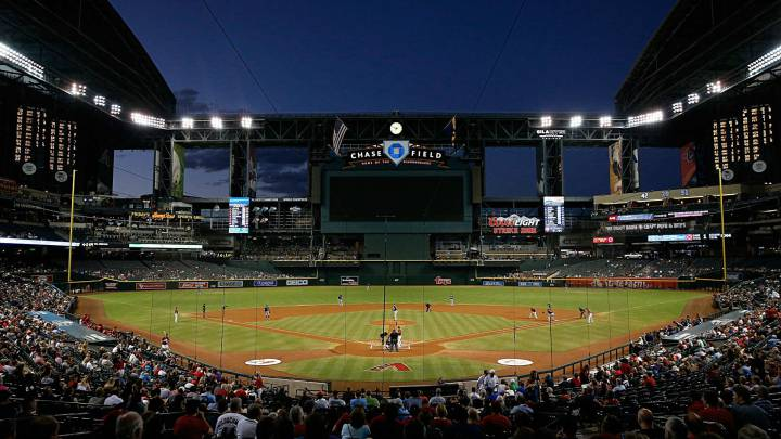 Chase Field en partido de los D-Backs