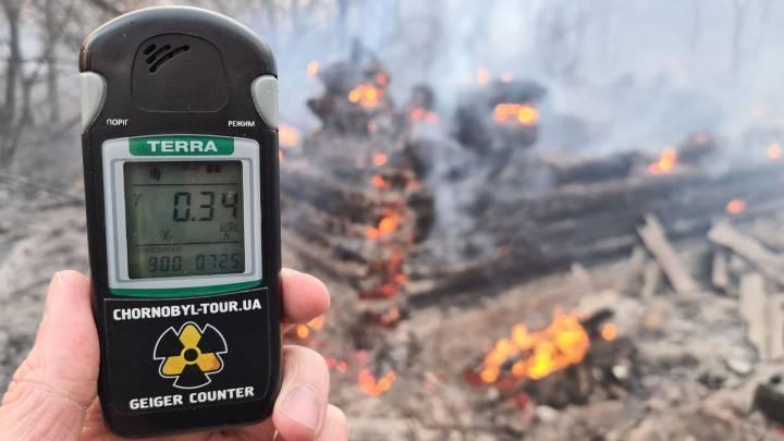 Se reactiva la radiación en Chernobyl a causa de incendios - AS USA