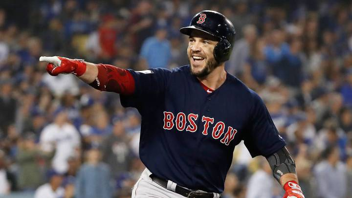 Steve Pearce con los Red Sox