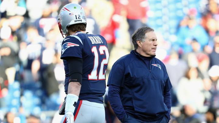 Tom Brady y Bill Belichick