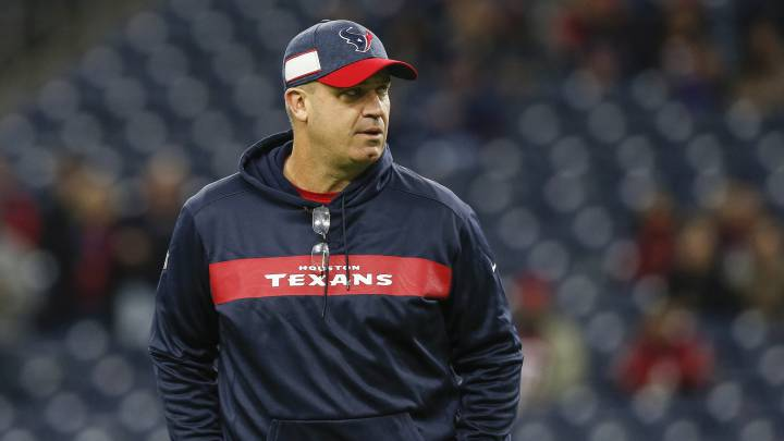 Bill O'Brien con los Texans