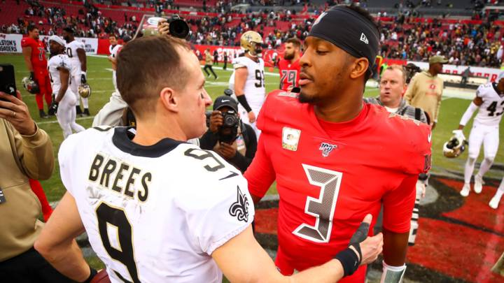Drew Brees, Jameis Winston