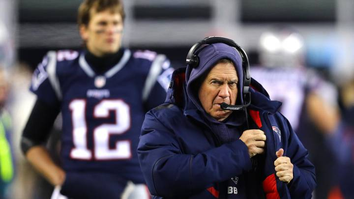 Bill Belichick y Tom Brady