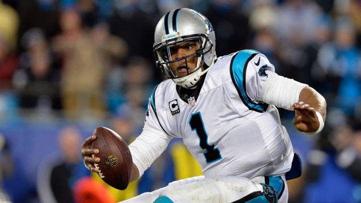Cam Newton con los Panthers