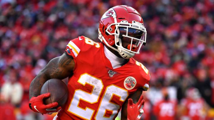 Damien Williams con los Chiefs