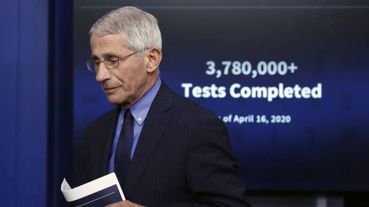 CORONAVIRUS | Anthony Fauci: El virus decidirá si hay temporada de NFL en  2020 - AS USA