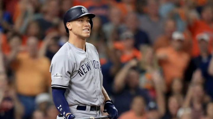 Aaron Judge con los Yankees