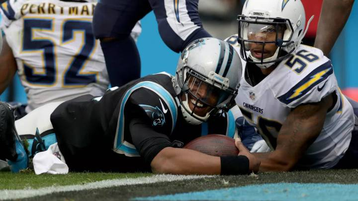 Cam Newton vs. Chargers
