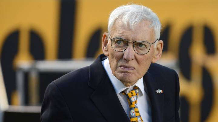 Dan Rooney con los Steelers