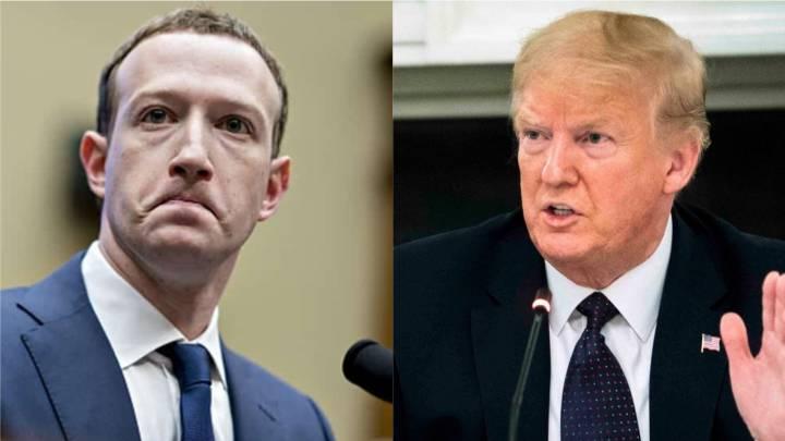 Qué dijo Mark Zuckerberg sobre Donald Trump y las publicaciones de  Facebook? - AS USA