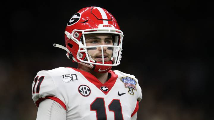 Jake Fromm con Georgia