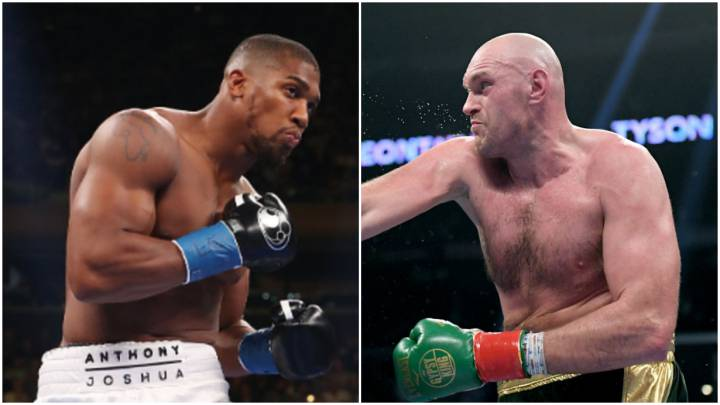 Anthony Joshua y Tyson Fury