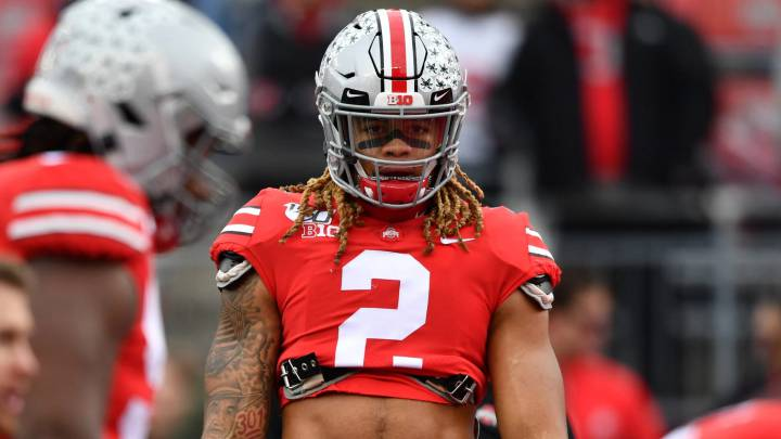 Chase Young con Ohio State