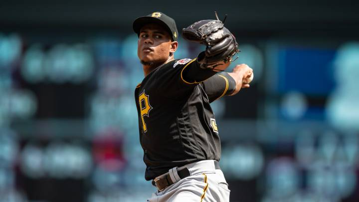 Edgar Santana con los Pirates