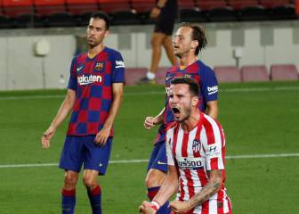 Saúl grabs a brace as Barcelona and Atlético Madrid draw