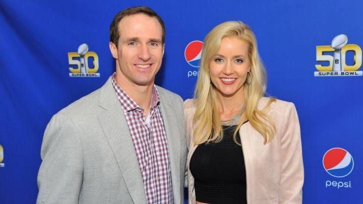 Drew Brees y Brittany Brees