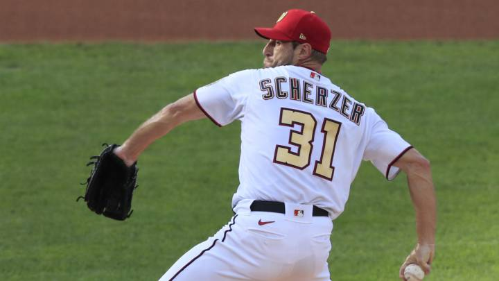 Max Scherzer con los Nationals