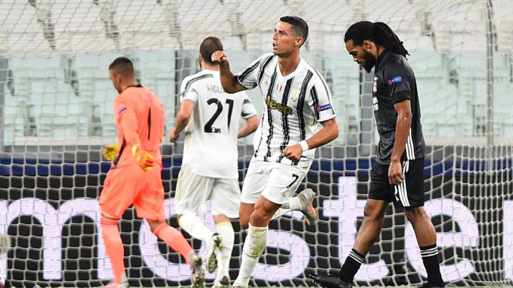 De otro mundo! Revive el golazo de Cristiano Ronaldo ante el Lyon ...