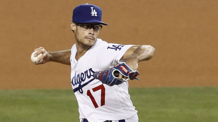 Joe Kelly con los Dodgers