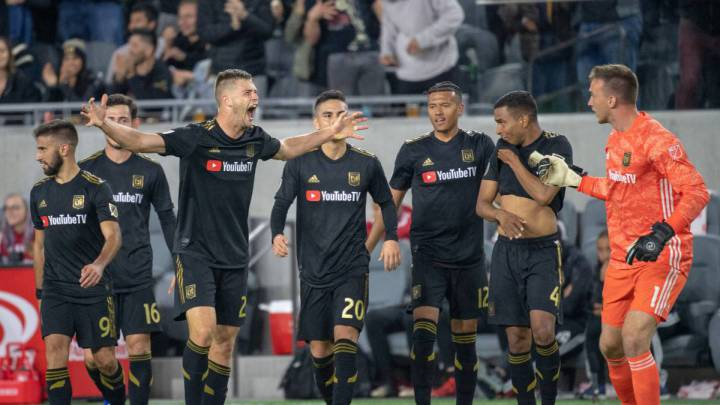 LAFC despertó en la MLS al golear a San Jose Earthquakes